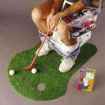 For golf addicts